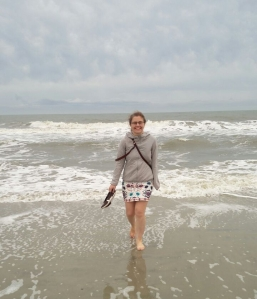 Me on the other side of the Atlantic (Myrtle Beach SC)